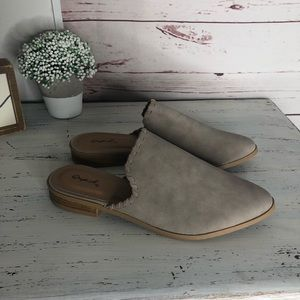 Stylish slip on mules